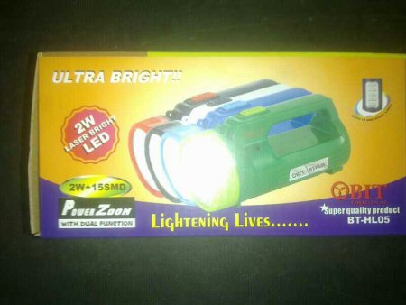 Handle torch lites with 2wt led bulb - by Roop kamal novelties, Hyderabad