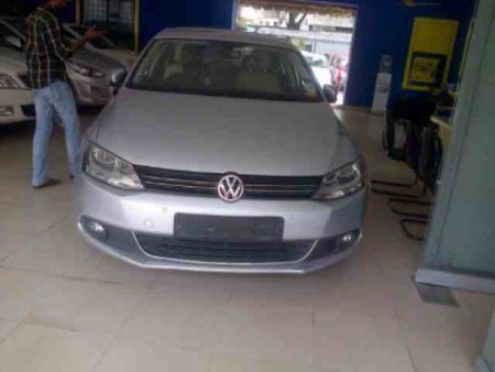 Preowned Volks wagon Jetta new shape 2011 29k driven silver color.  - by Ingens by auto arena, Hyderabad