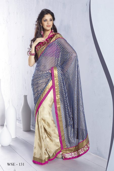 Launch of everyday fancy saree collection at Neeru.com ! Buy http://www.neerus.com/categories/Neerus-Saree-Embroidered-Saree/cid-CU00125656.aspx - by Neerus Elite - Banjara Hills (www.neerus.com), Hyderabad