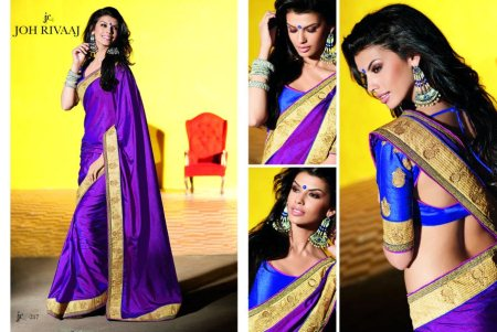 Custom Made Sarees and Saree Blouses. - by S.V. Silks, Hyderabad