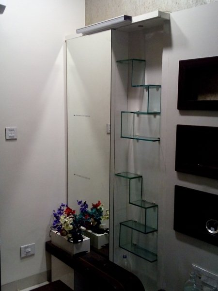 Dressing table Glass shelves - by Badshah Fabrication, Bhopal