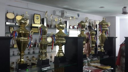 Brass Trophy available at our Store  - by Gurus world, Hyderabad