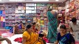 Shop interior - by Sri jagdamba sarees, Hyderabad