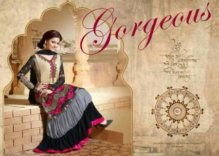 Long Gowns For Party Wears. - by Jaju Sarees, Hyderabad