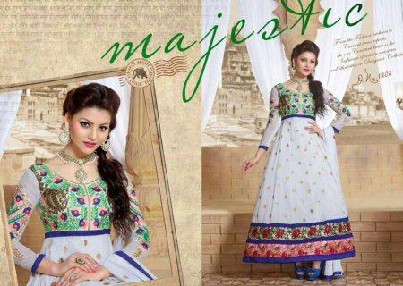 Bridal Wear Anarkali Suits. - by Jaju Sarees, Hyderabad