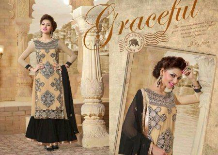 Designer Wear Anarkali Suites and Fancy Materials. - by Jaju Sarees, Hyderabad