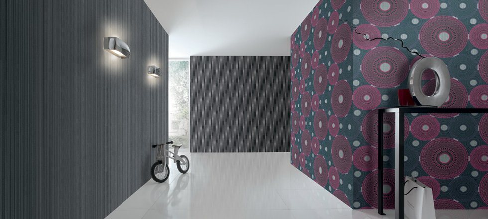 Majestic Vinyl WallPapers in Different Shades. - by The Look Interior Concepts, Hyderabad
