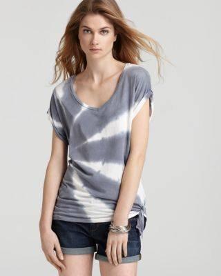 Organic Tie Dye T-Shirt For Women. - by Tailorbird Shop, Hyderabad