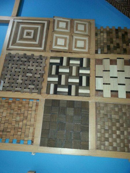 Decorative wooden mosaic tiles - by Gautam Agencies, Mahabubnagar