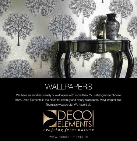 Designer Wallpapers Dealers For the Home Interiors. - by Deco Elements, Hyderabad