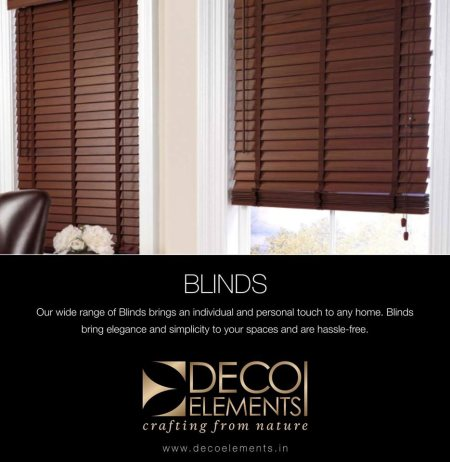 Customised Vertical Blinds available.  - by Deco Elements, Hyderabad