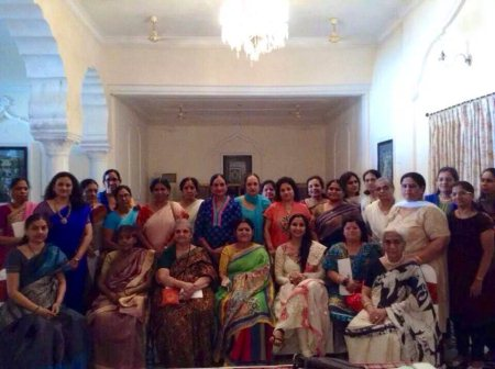 Extremely Inspiring Session On DMIA @ Chiran Forte Club Ladies association .  - by Senses Holistic Services, Hyderabad