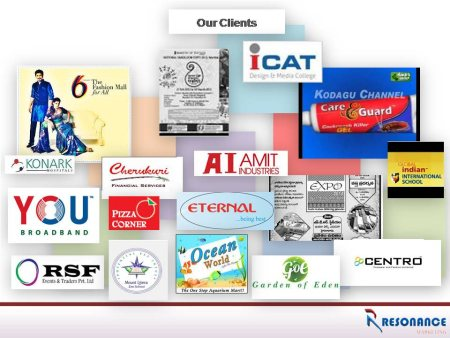 100% satisfaction about our services this comments got from our  clients - by RESONANCE MARKETING , Hyderabad