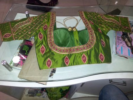 zari blouse - by Raiya Boutique, Bangalore Urban