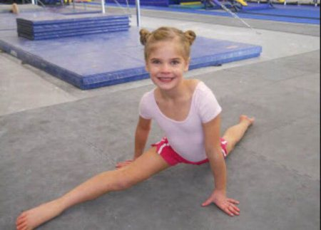 Lily Is 7 And Very Good - by Leah's gymnastics center, Delaware County