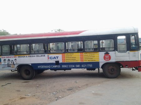 Promote Your Brand on the Buses With very Reasonable Prices for details can contact 9640586624 visit our website http://resonancemarketings.com/ - by RESONANCE MARKETING , Hyderabad