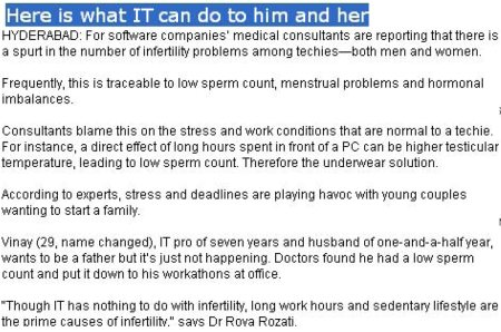 What IT can do to him and her - by MATERNAL HEALTH & RESEARCH TRUST (MHRT) , Hyderabad