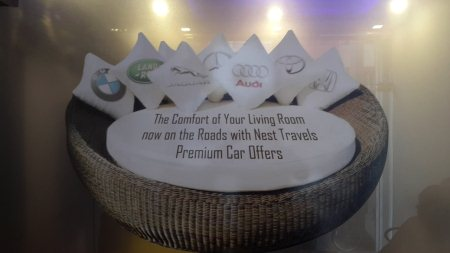 The Comfort of Your living room now on roads  with Nest Travels Premium Car Offers.  - by Nest Travels, Hyderabad