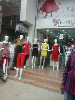 Display @ kondapur store.  - by Kaira by Maharaja Designer, Hyderabad