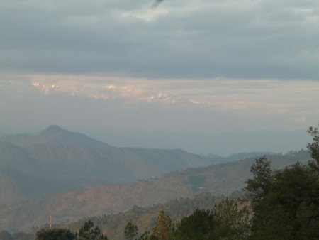 fabulous view from a hotel in Kasoni India - by Saiman Holidays, Delhi