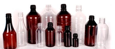 PET Bottles - 10 ml, 15 ml - 22 mm neck