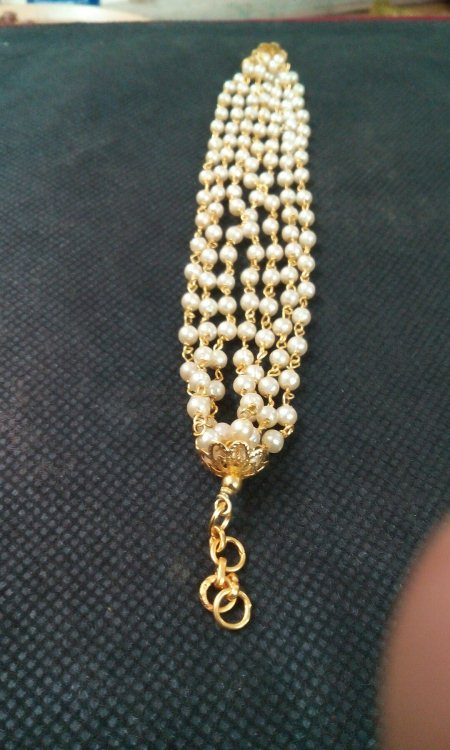Hand made ganthan  bracelet - by Suryavanshi jewellery, Ahmedabad