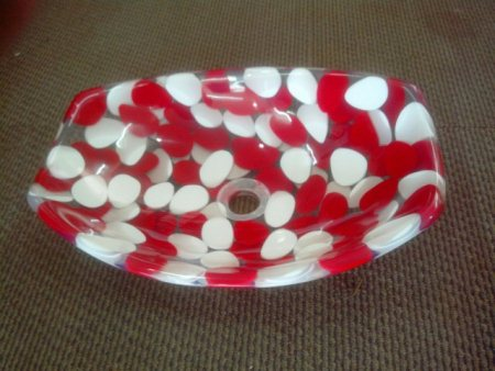 We also provide resin pebble bowl in diffrant color - by Dave sanitaries, Ahmedabad