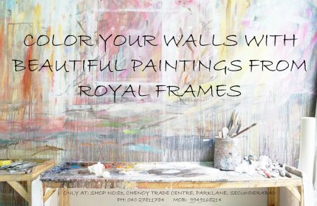 Shop from the widest range of frames & paintings only at royal frames. - by Royal Frames & Gifts, Hyderabad
