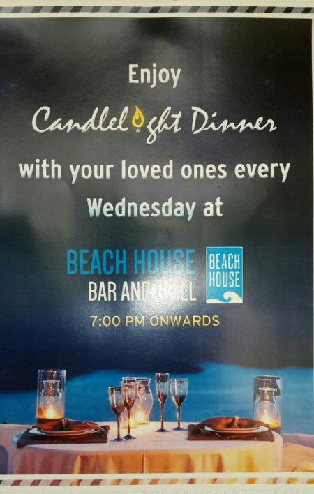Candle Light Dinner  on Wednesdays - by Beach House, Hyderabad