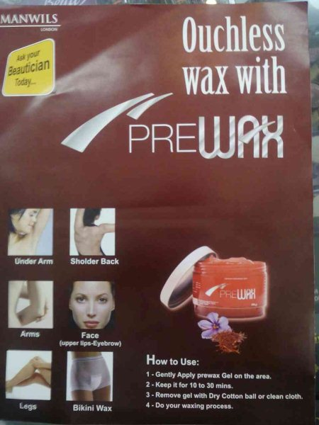 We provide prewax for painless waxing. - by Pranav Beauty Selection, Ahmedabad