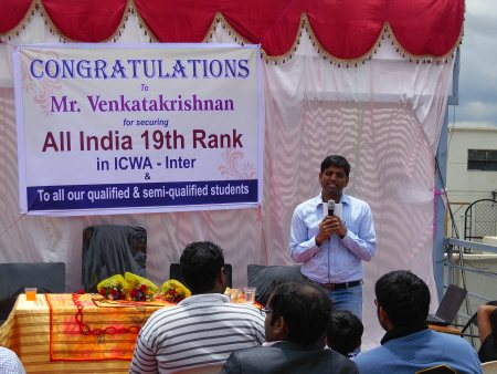 All india 19th rank in CWAI - by Success Edge, Bangalore Urban