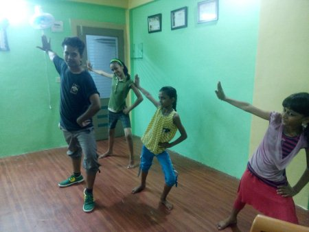 Me and my student and practice  - by N-creation dance Academy, Ahmedabad