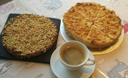 Some of our amazing home baked cakes and our fantastic coffee. - by The Hatter Tea Room, Cavan