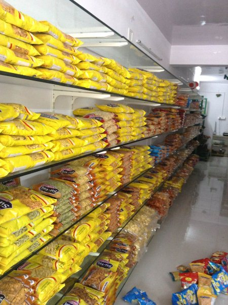 Packaged food beverages, gujarati namkeens, and snacks   Available here  - by The Fresh Mini Mart, Ahmedabad