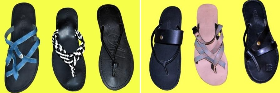 Our indigenous Pam Slippers...  - by Hiz Graze Leathers, Lagos