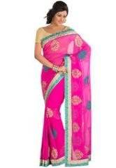 Siffon Sarees are available.  - by  Ethynic, Ahmedabad