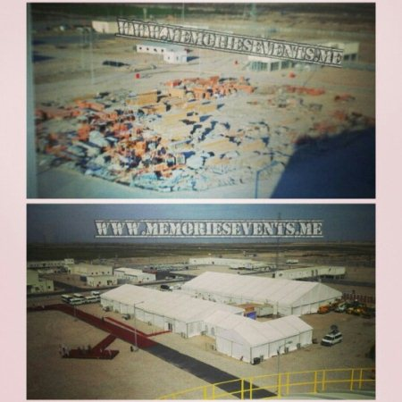 Lukoil Oil West Qurna Oil Field Launching   Al Basra Iraq  Before & After - by Memories Events Middle East, Dubai