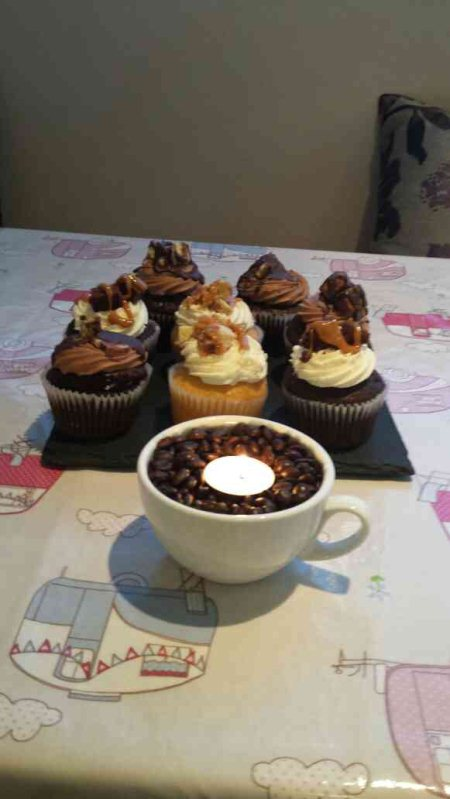 Our new handmade cupcakes just in. These taste amazing.  - by The Hatter Tea Room, Cavan