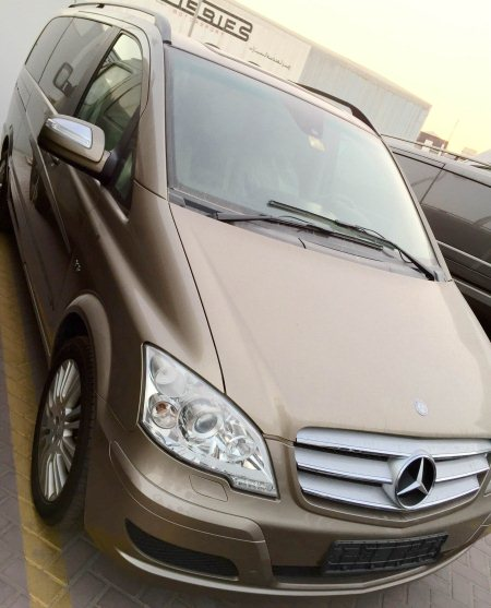 Mercedes Benz VIANO  Full day chauffeur @ 1200 AED Hourly Chauffeur @ 250 AED - by Escort Limousine, Dubai