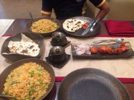Hara chicken Hyderabadi  - by Famous Chinese And Biryani House, Udgir latur maharastra