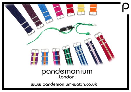 Watches never go out of fashion.  Get a new watch look today at Pandemonium Watch.  Our online watch shop has a range of cool fashion watches, designed for the trendy Londoner with interchangeable straps available to ensure you look cool.   - by Pandemonium Watch - on trend unisex fashion watches, Greater London