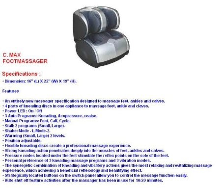 LEG MASSAGER - by Iva Fitness, Ahmedabad