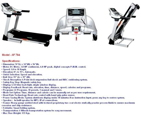 TREADMILL  - by Iva Fitness, Ahmedabad
