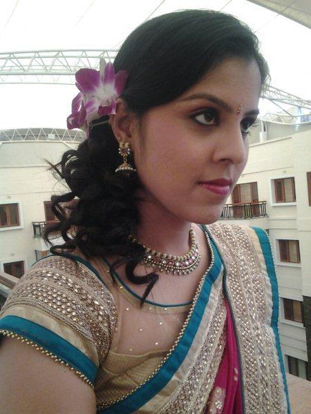 for bridal makeup,  party makeup,  portfolio makeup Call 9900614456 - by Mangal Mantra, Bangalore