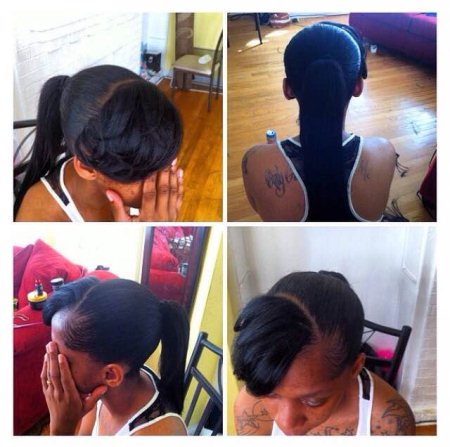 Ponytail with bang $30 💇🙆💆 - by Hype Styles, Chicago