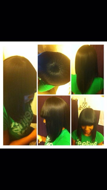 Quick weave with cut $45 💇🙆💆 - by Hype Styles, Chicago