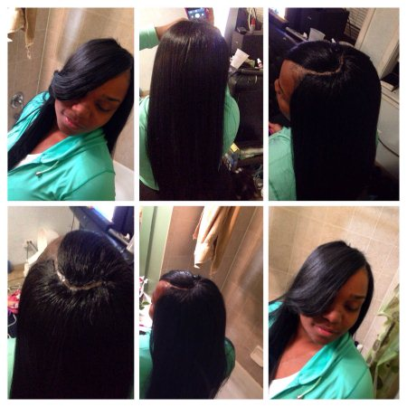 Quick weave Invisible part $45 💇🙆💆 - by Hype Styles, Chicago