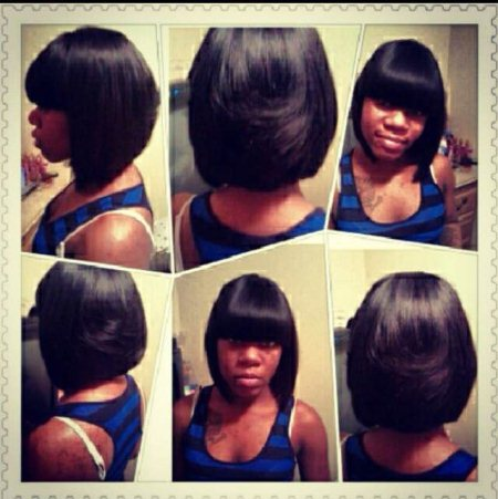Bob I did myself quick weave $50 - by Hype Styles, Chicago