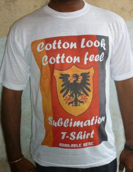 Hi  Cotton feel cotton look Sublimation tshirts  www.tshirthyd.in - by Tisma Creations, Hyderabad