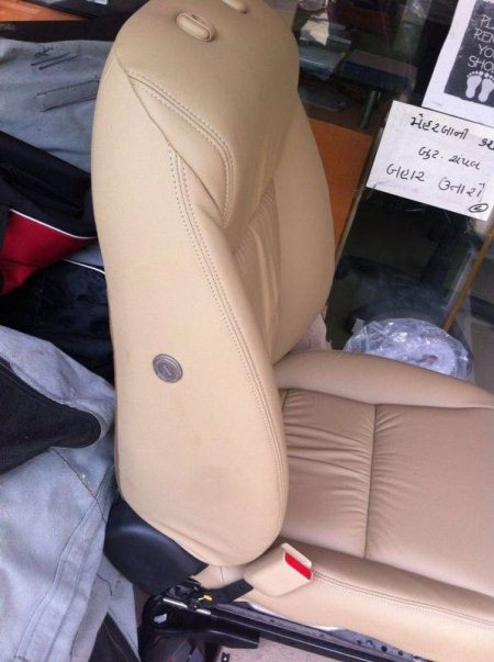 New Honda city 14 genuine leather seat cover - by Sunlight Car Accessories, Ahmedabad